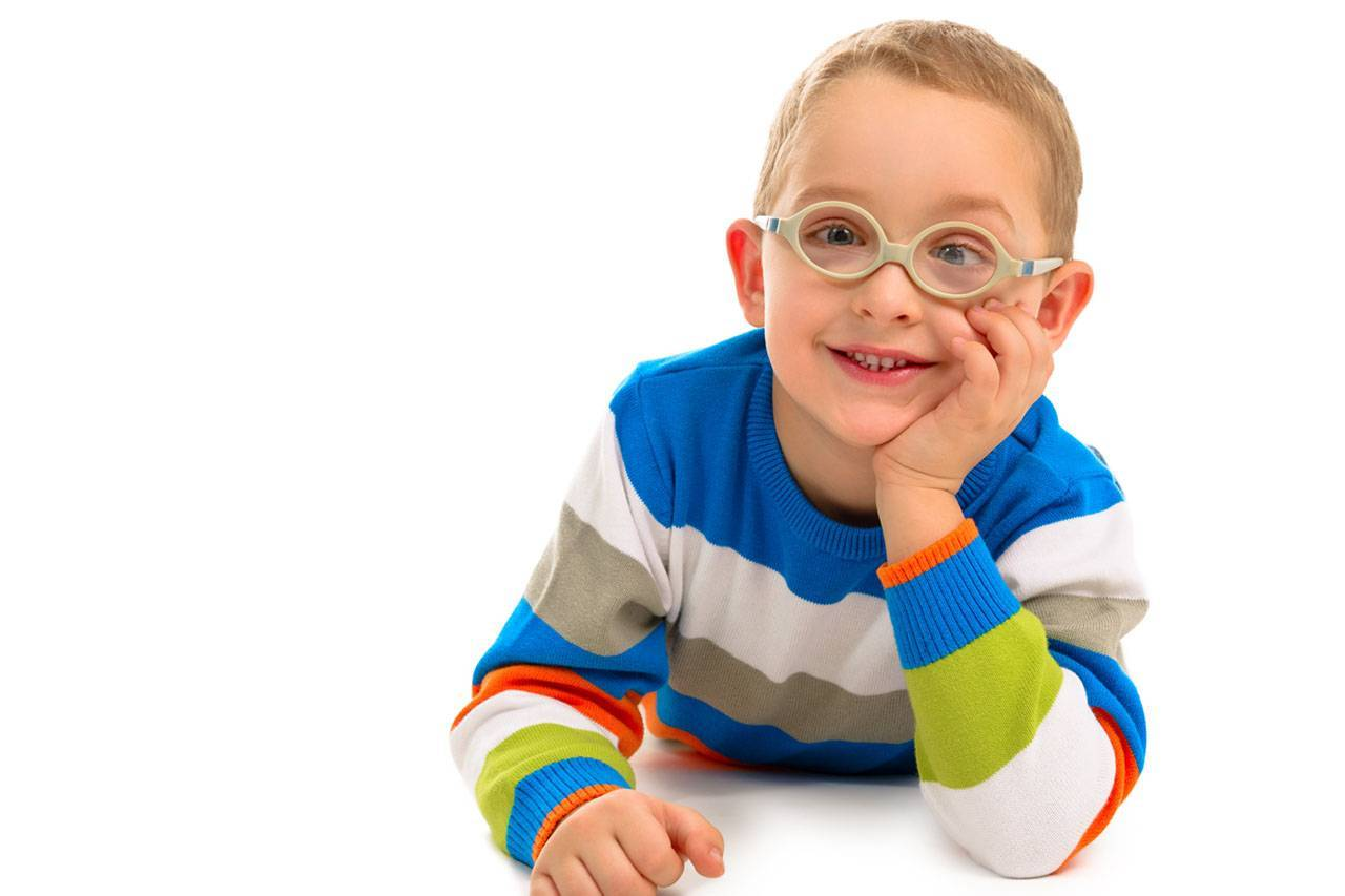 Cute smiling boy with glasses 1280x853